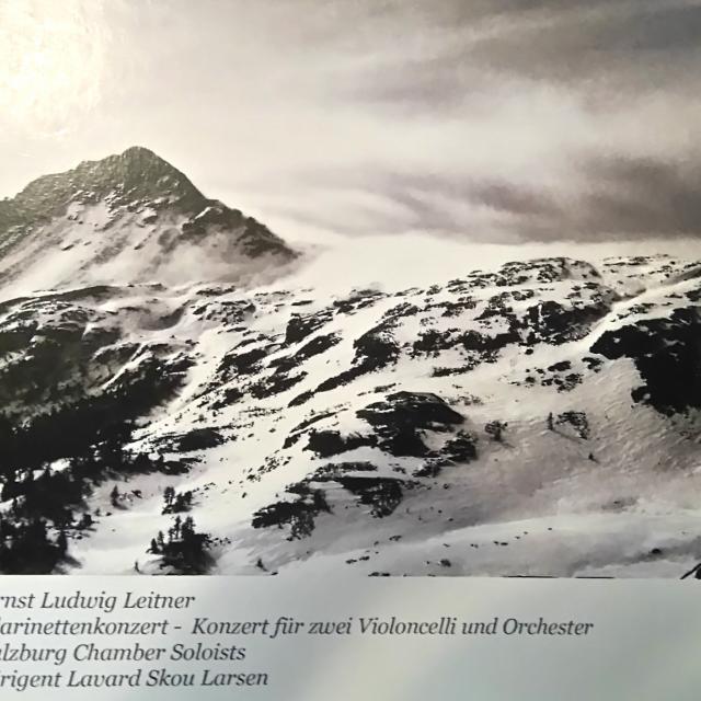 E.L. Leitner - Klarinetten für zwei Violoncelli und Orchester